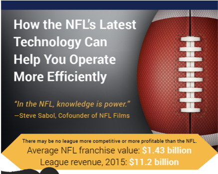 How the NFL's Latest Technology Can Help You Operate More Efficiently