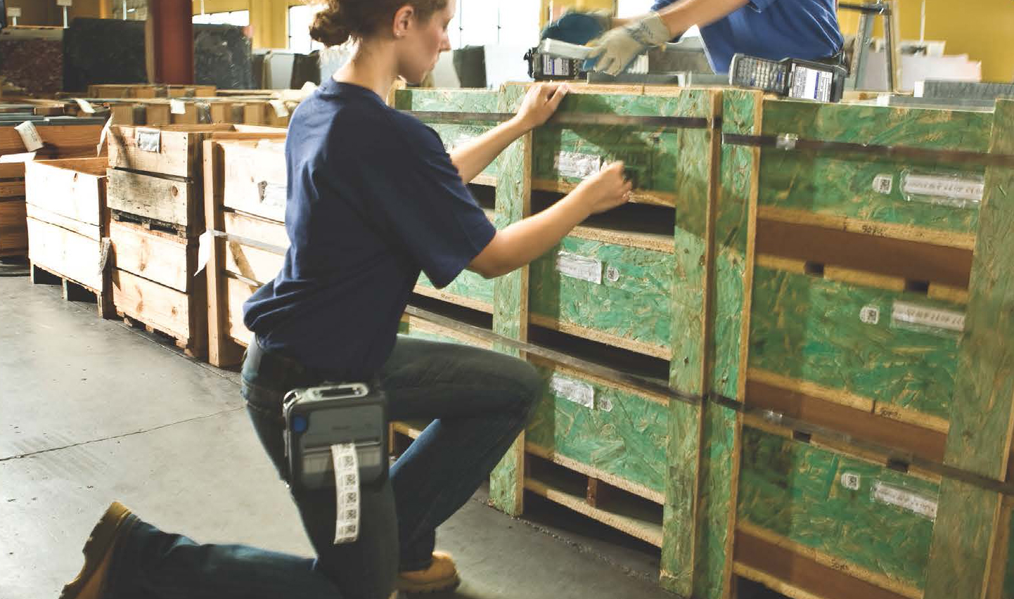 Mobile Labeling in the Warehouse or Manufacturig Facility