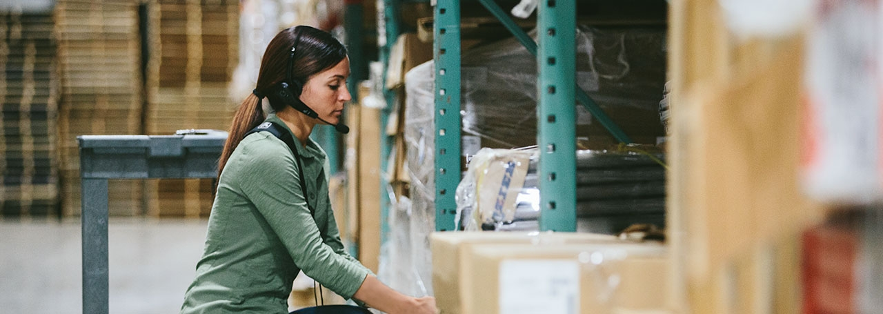 5 Reasons to Consider Voice for Warehouse Picking Applications
