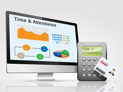 Time and attendance tracking.