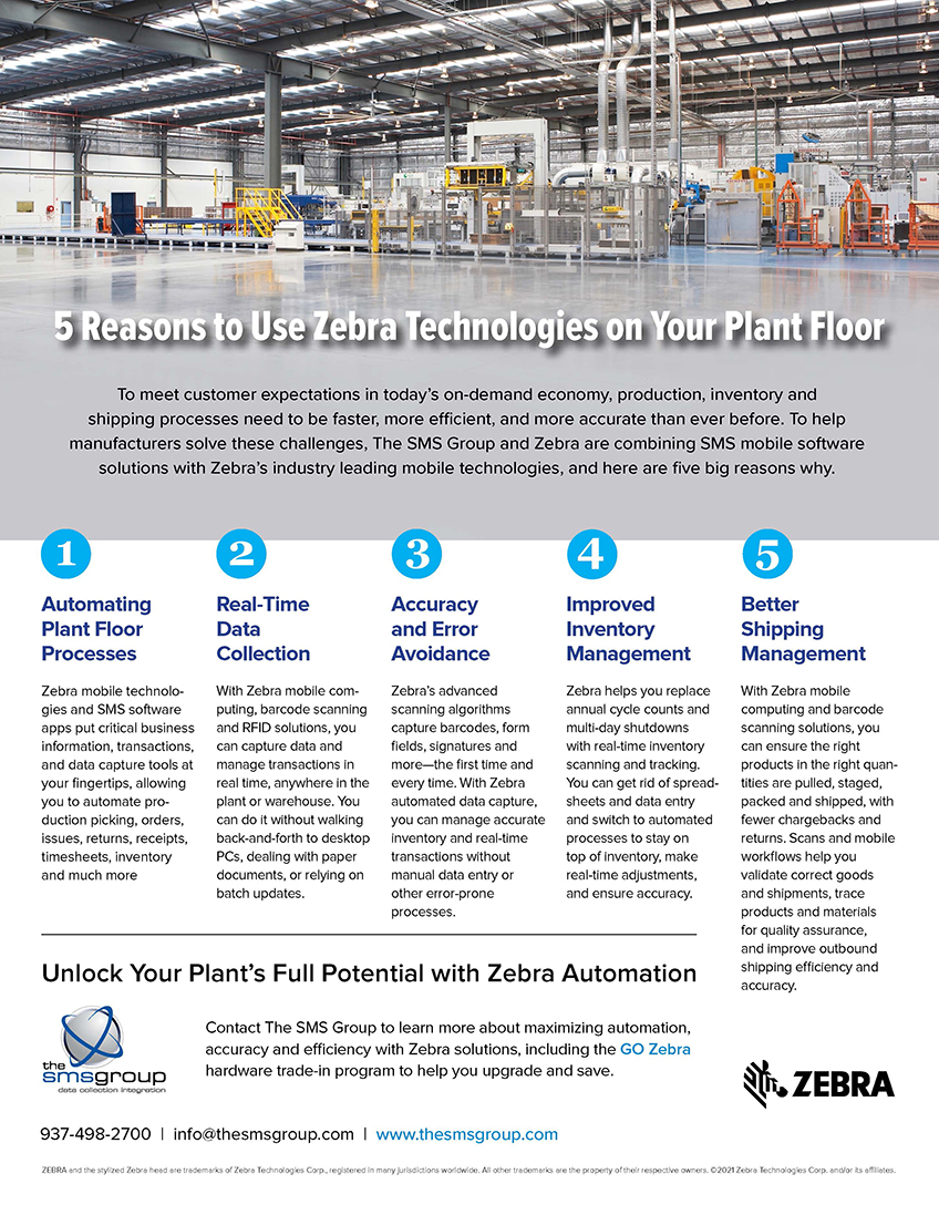 SMS Group - 5 Reasons Flyer (300-R)